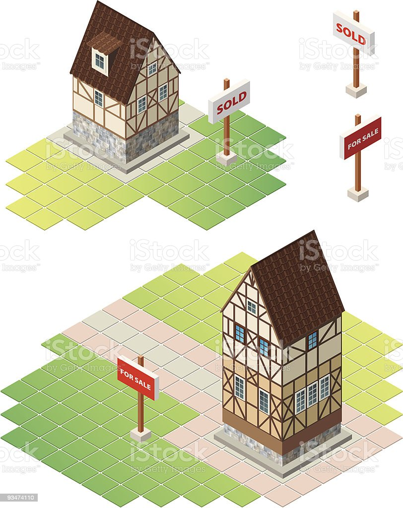 Real Estate royalty-free stock vector art