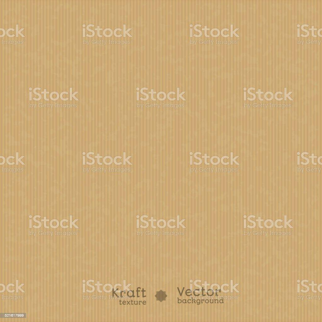 Realistic kraft texture vector art illustration