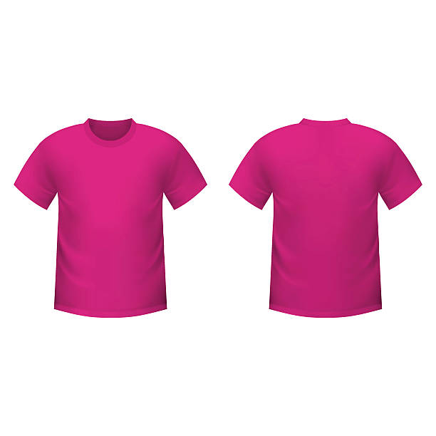 Blank Pink T Shirt Clip Art, Vector Images & Illustrations - iStock