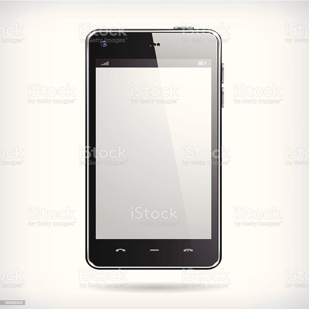 Realistic Smartphone royalty-free stock vector art