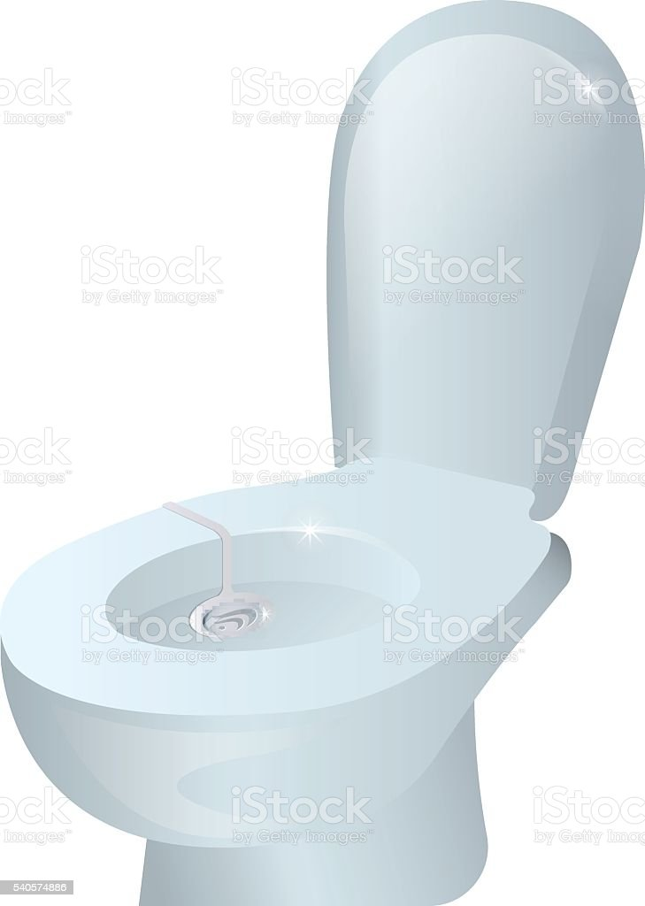 realistic toilet, dressing gel,  for , cleaning the  from bacteria,  cleaner royalty-free stock vector art
