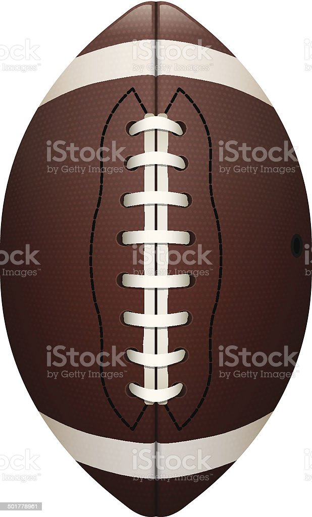 Realistic Vector Football Illustration vector art illustration