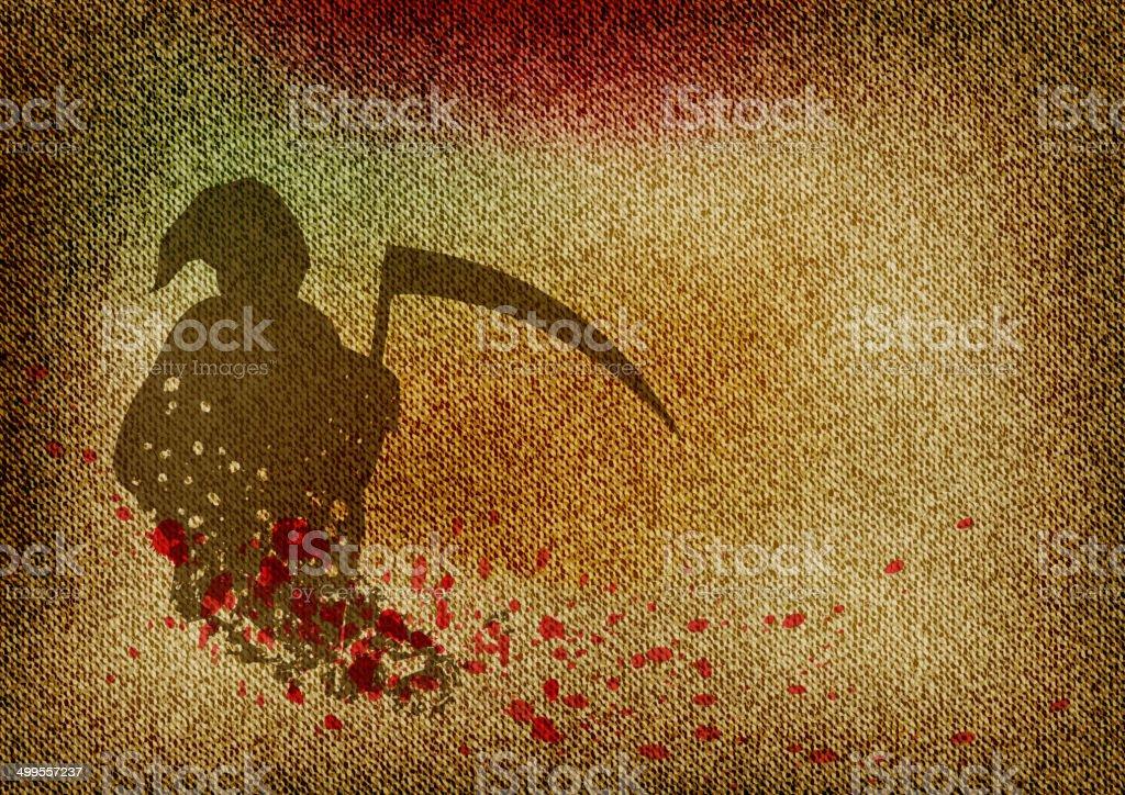 reaper royalty-free stock vector art
