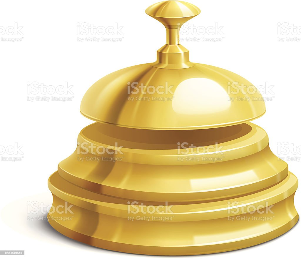 Reception Bell royalty-free stock vector art