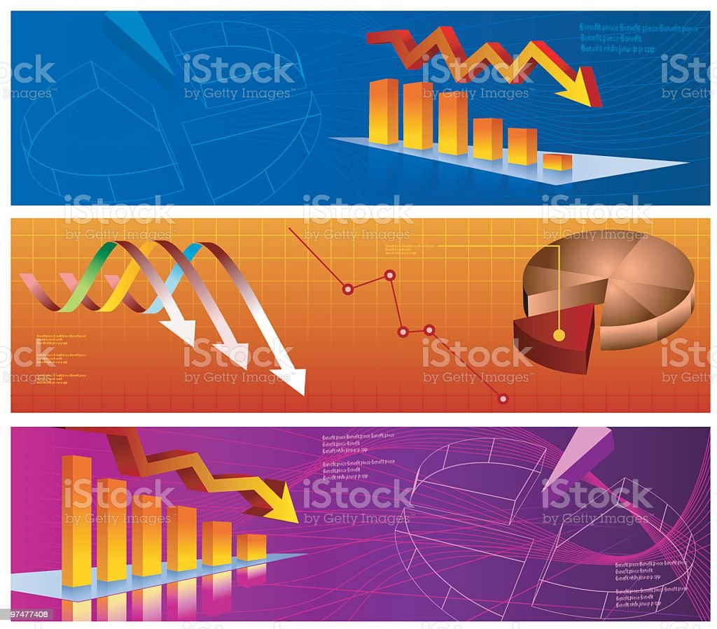 Recession time!!! royalty-free stock vector art