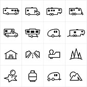 Recreational Vehicle Icons