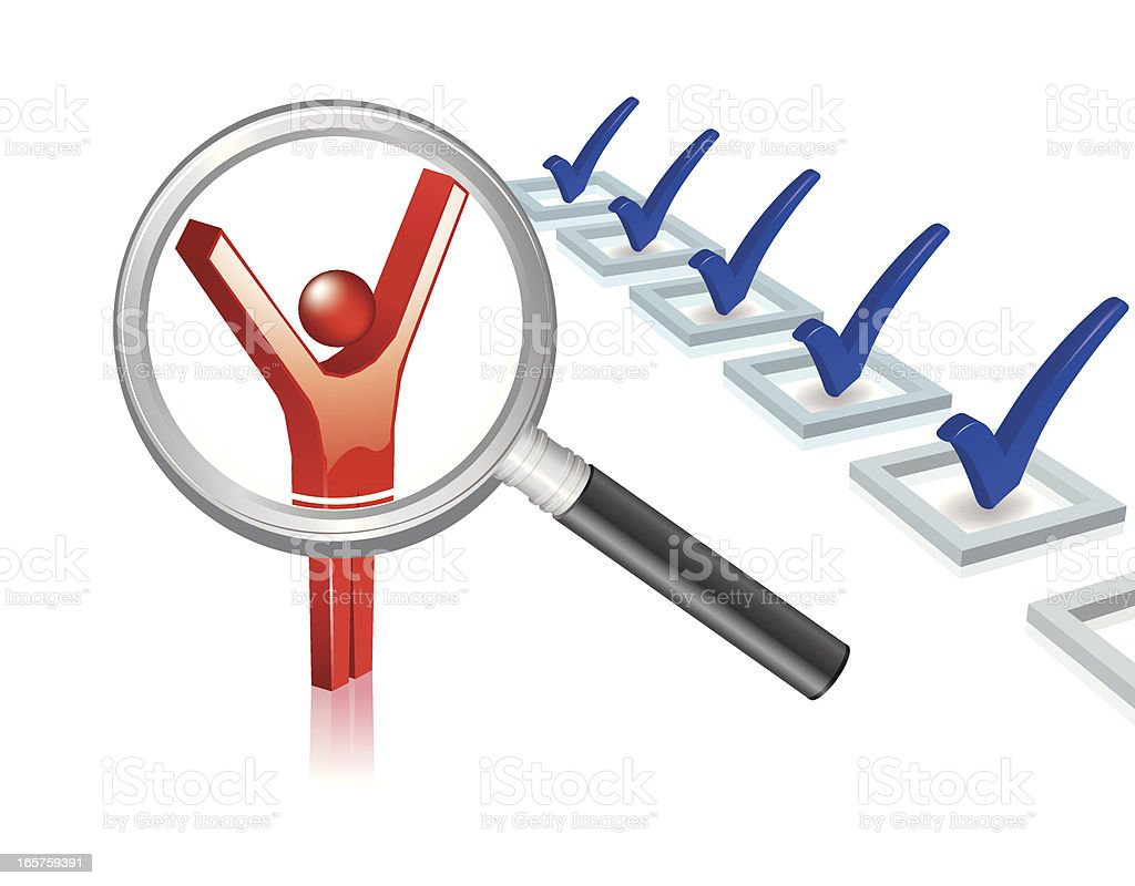 recruitment royalty-free stock vector art
