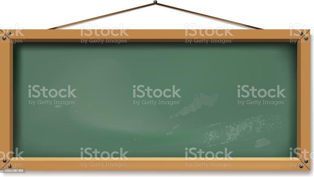 rectangle blackboard royalty-free stock vector art