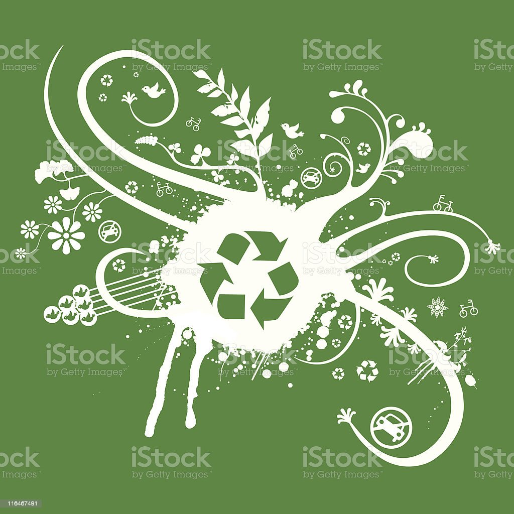 Recycle Abstract 6967597 royalty-free stock vector art