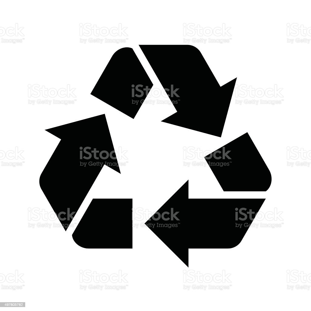 Recycle illustration - VECTOR vector art illustration
