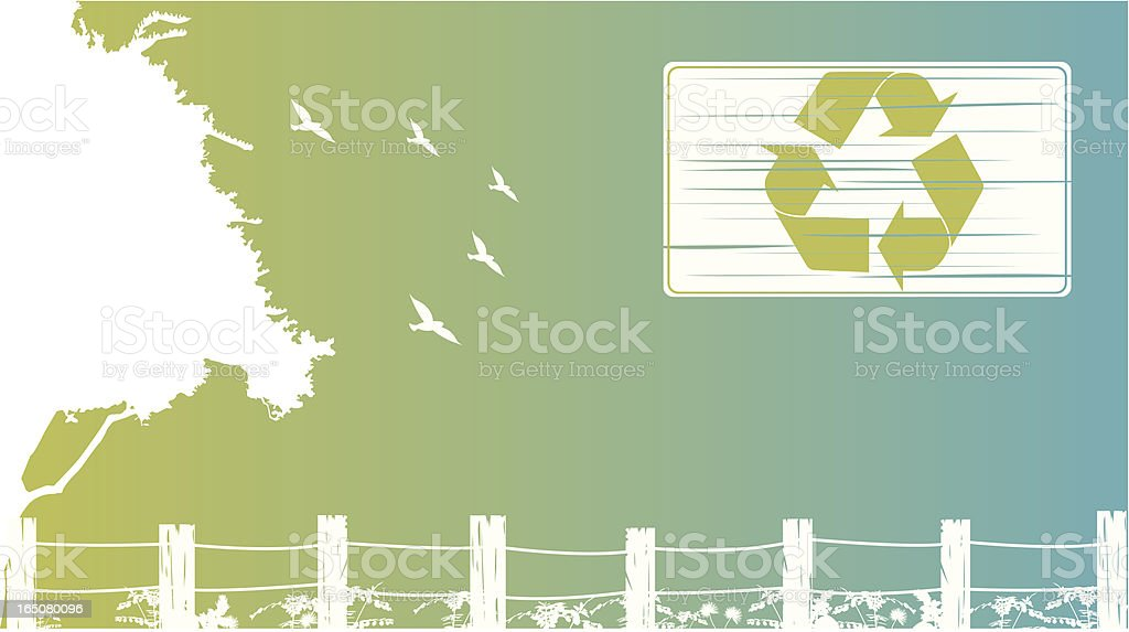 recycle nature royalty-free stock vector art