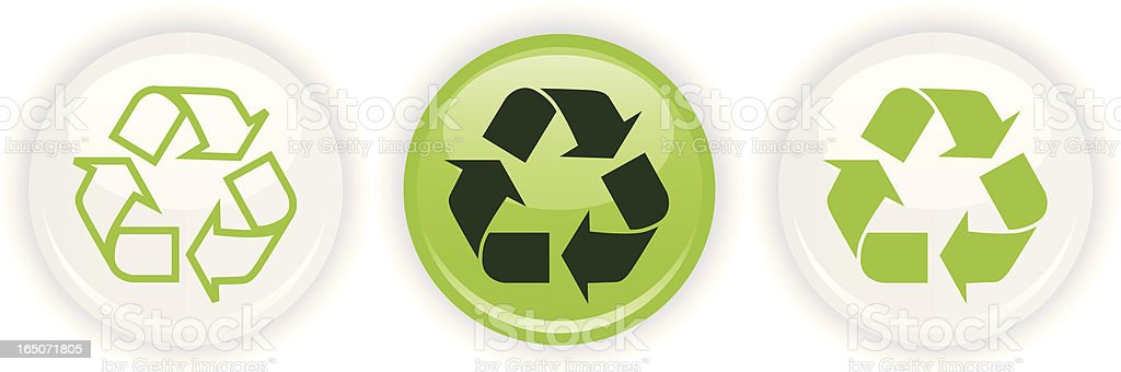 Recycle Only royalty-free stock vector art