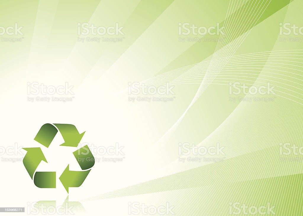 Recycle Symbol vector art illustration