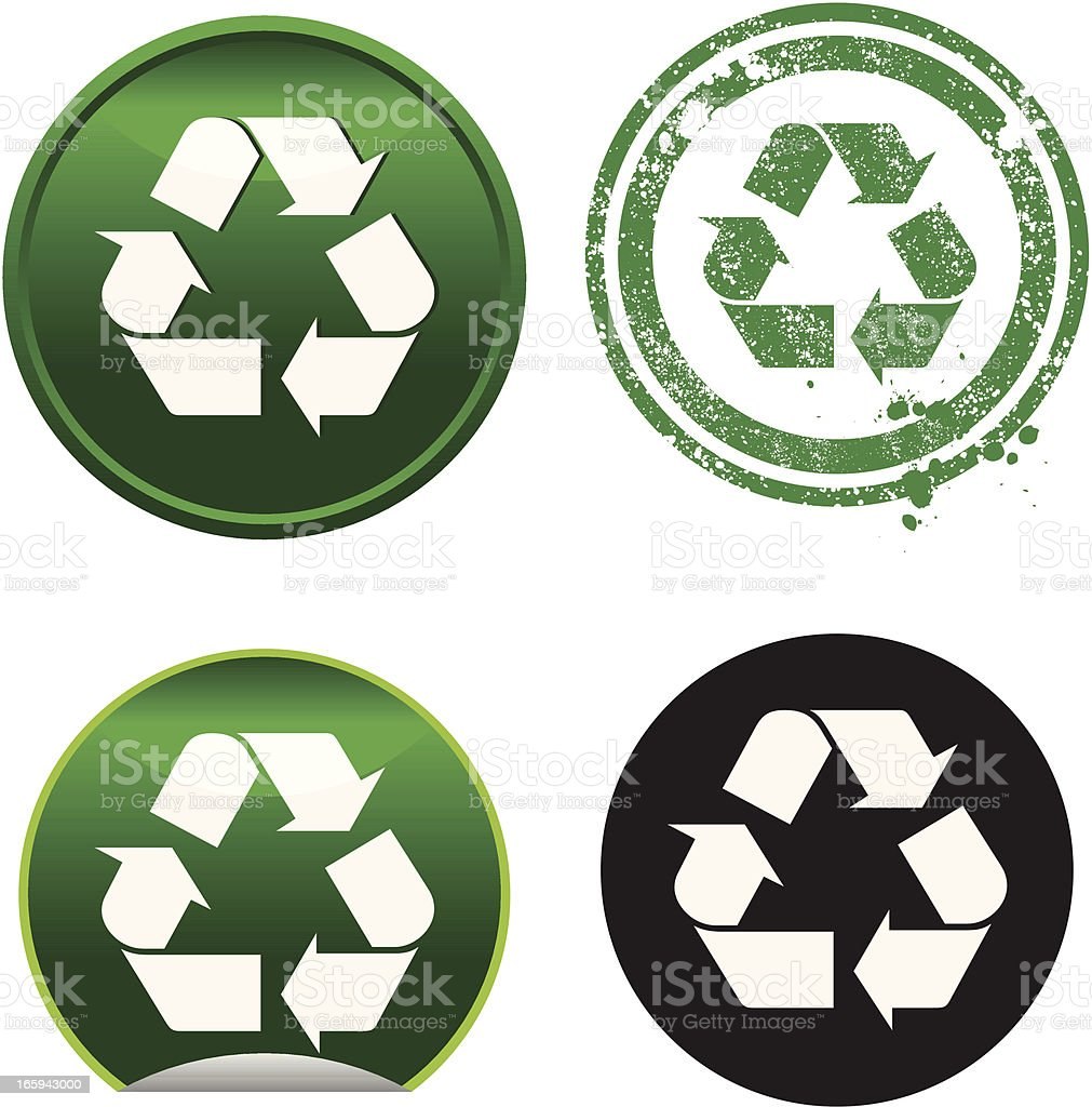 Recycle Symbol royalty-free stock vector art