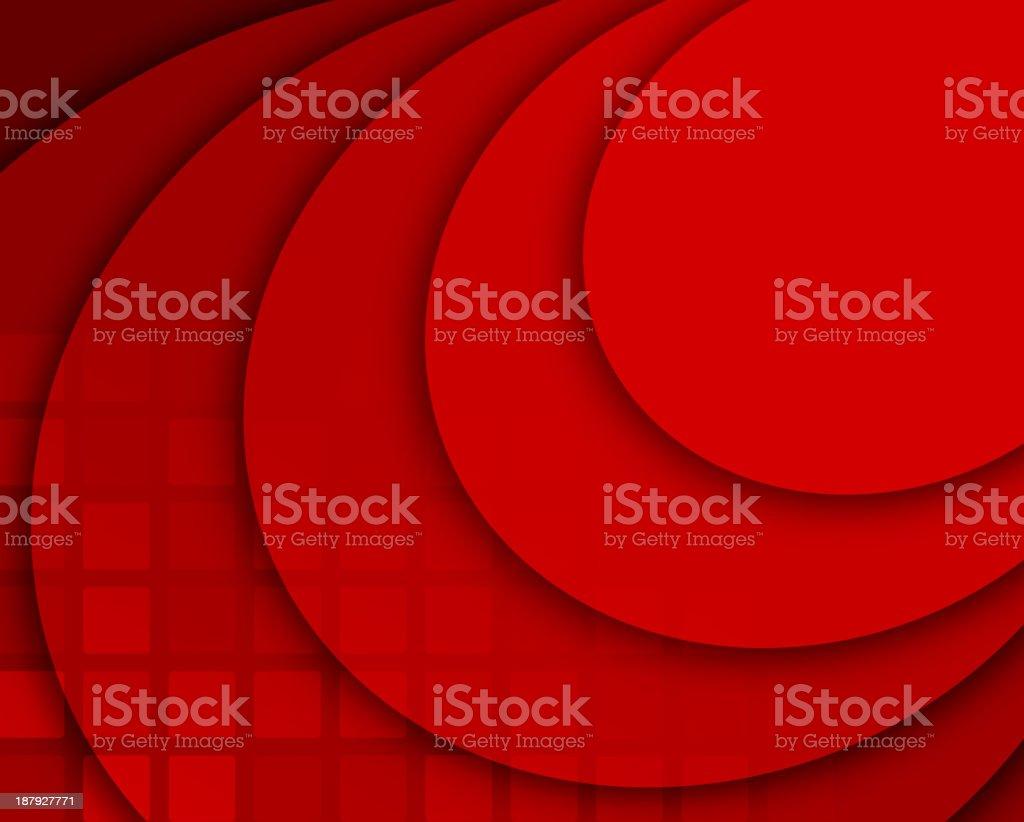 Rojo abstracto composición illustracion libre de derechos libre de derechos