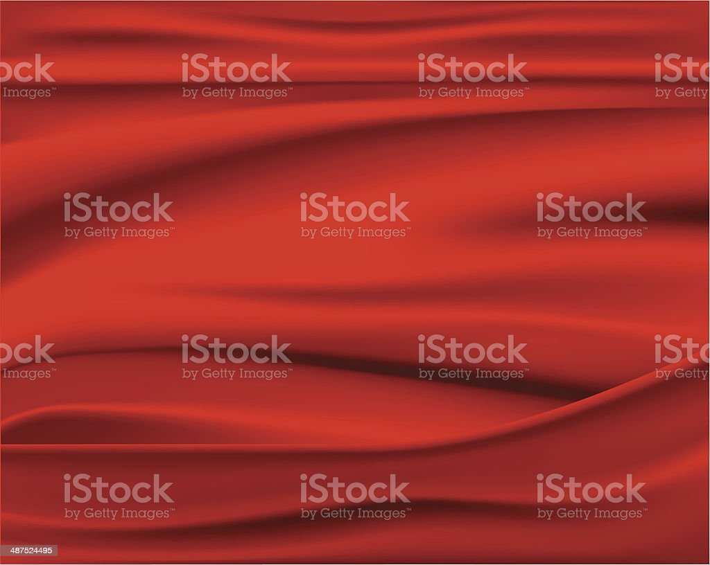 Red Abstract Vector Background vector art illustration