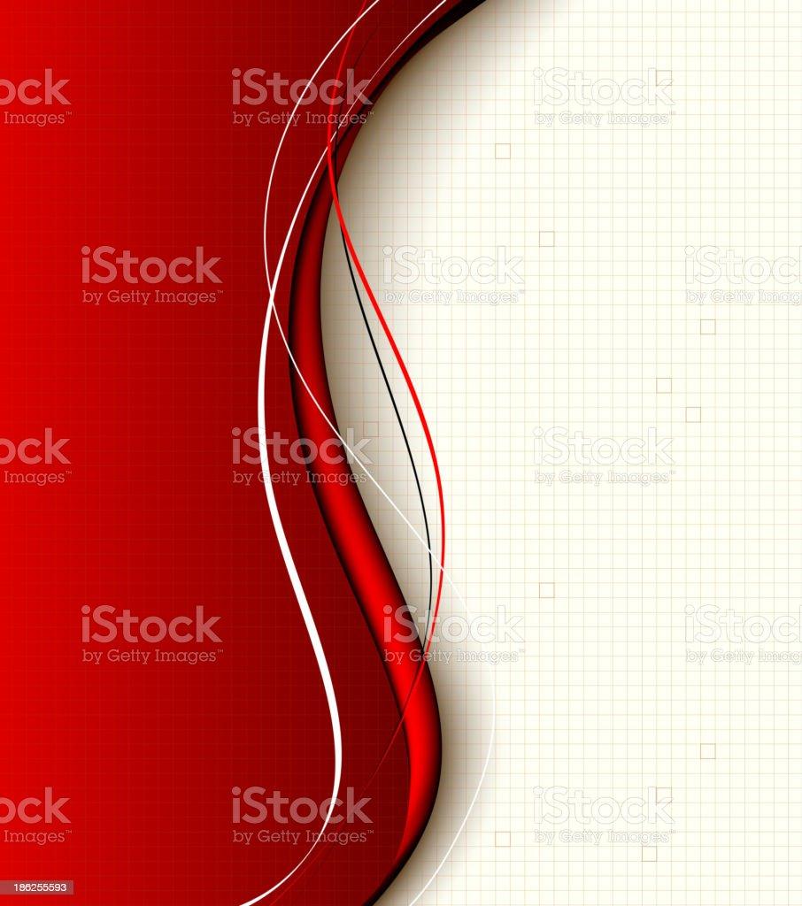 Composición fondo rojo illustracion libre de derechos libre de derechos