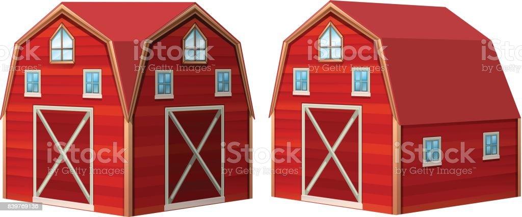 Red Barn Doors Clip Art cartoon of red barn door clip art, vector images & illustrations