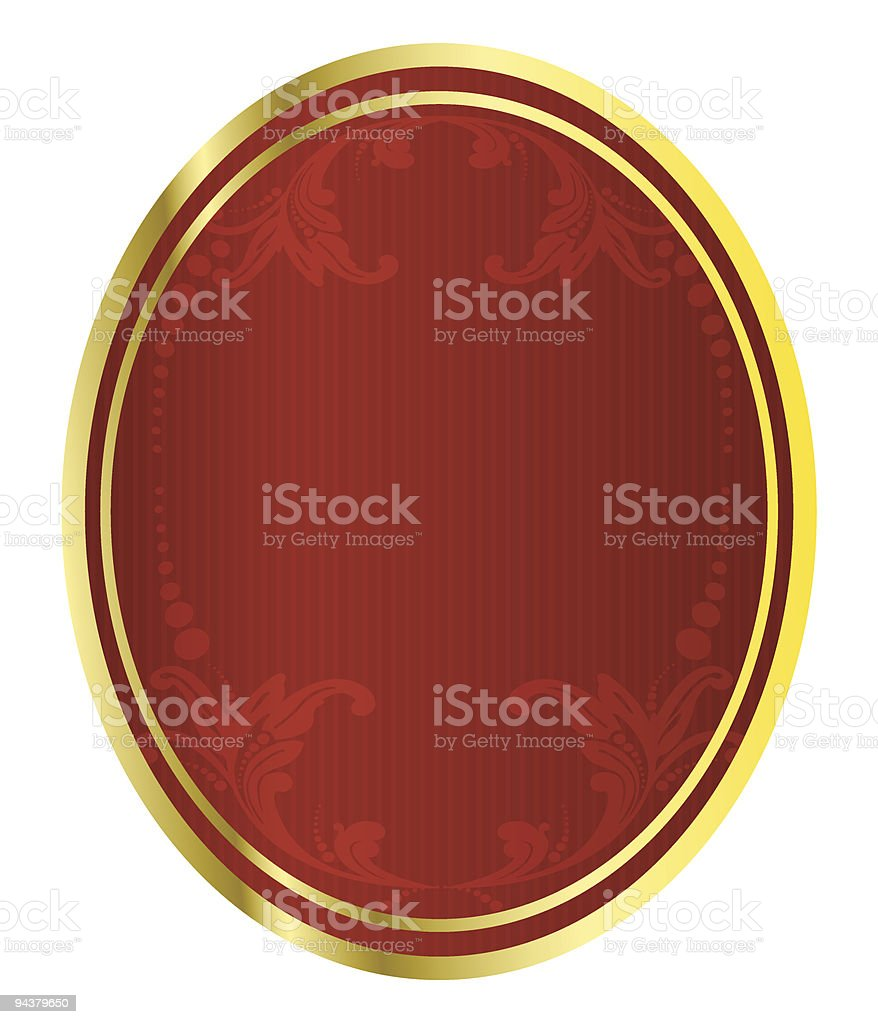 Red beer tag royalty-free stock vector art