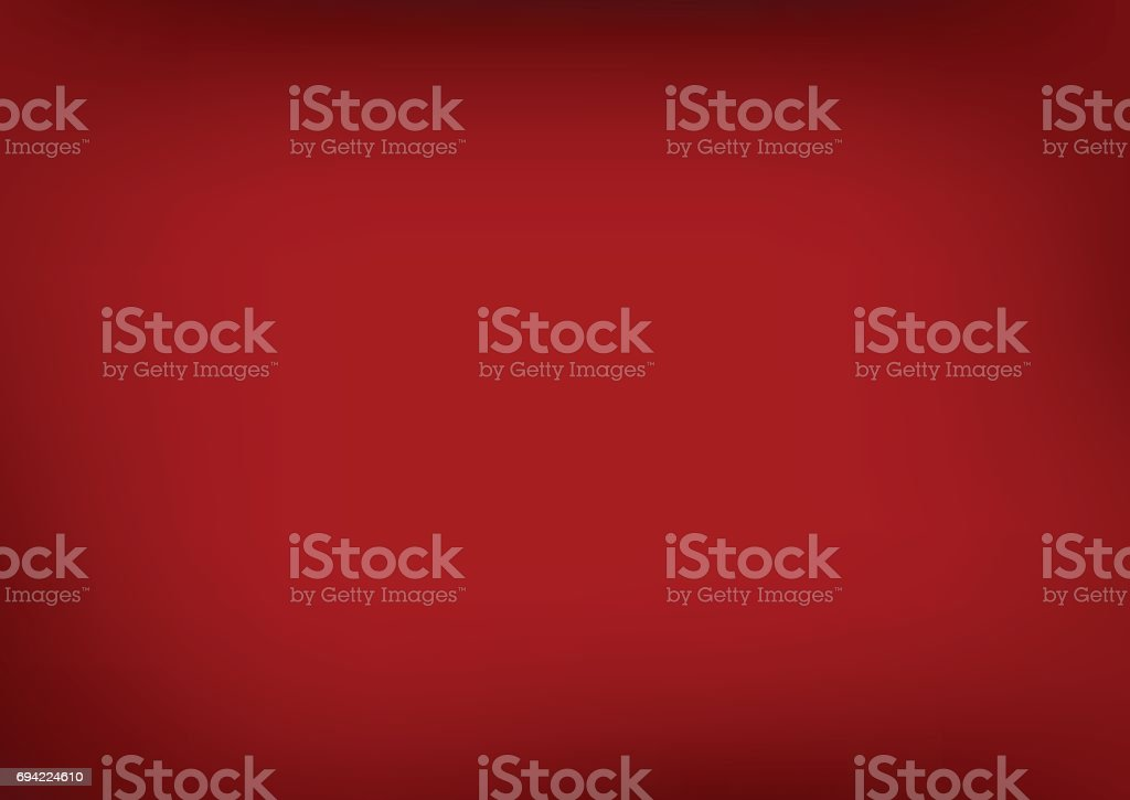 Red blurred gradient style background. Abstract illustration, so vector art illustration