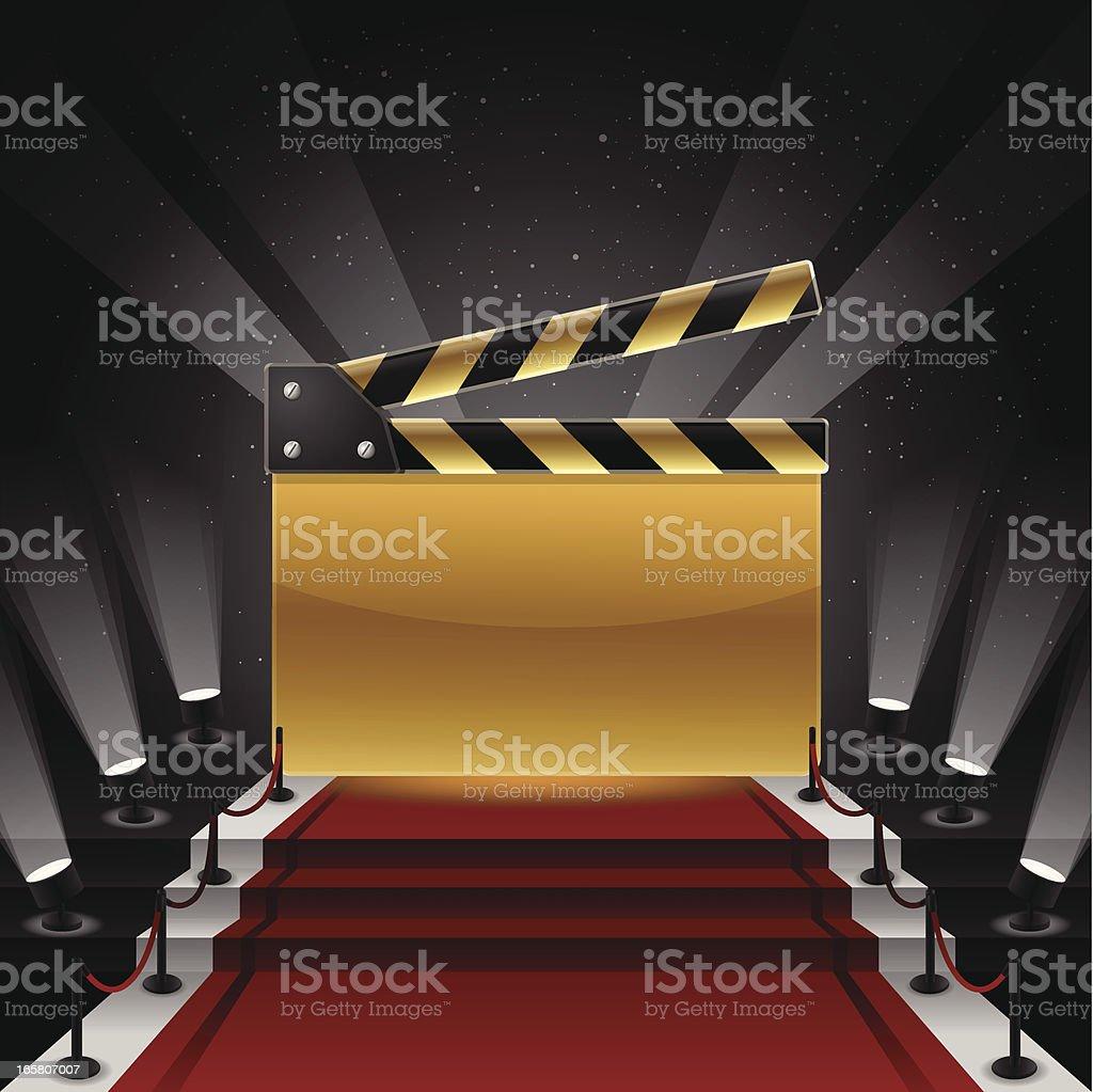 Red Carpet Awards royalty-free stock vector art