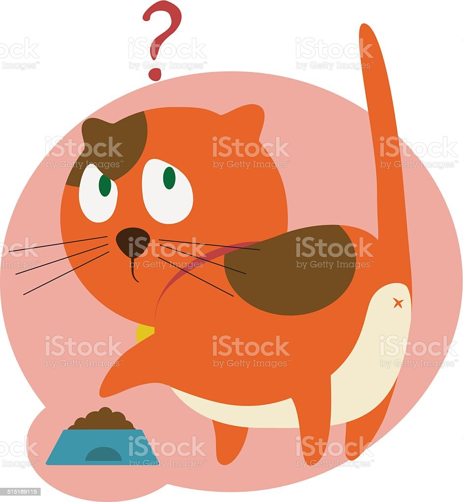 red cat at the kitchen stock vector art 515169115 | istock