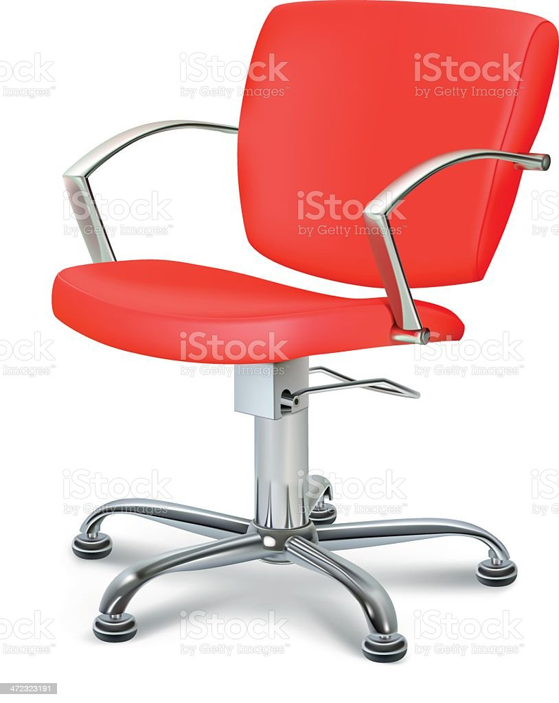 Red Chair royalty-free stock vector art