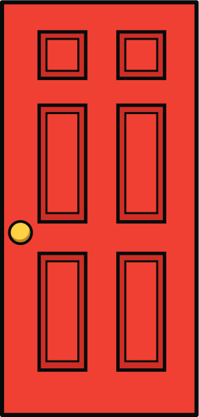 Cartoon Of A Frontdoor Clip Art Vector Images Illustrations Istock