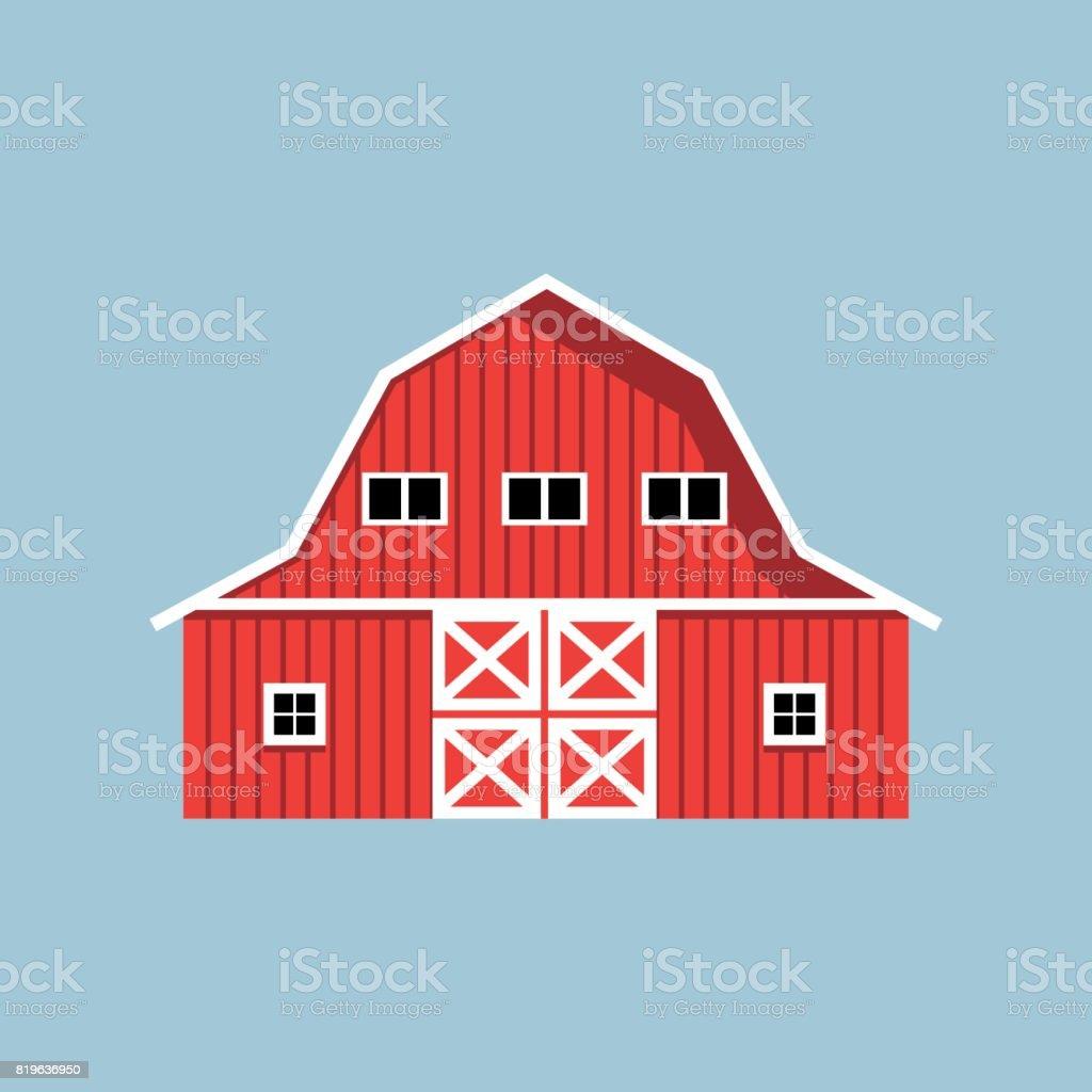 Red Barn Doors Clip Art red barn door cartoon clip art, vector images & illustrations - istock