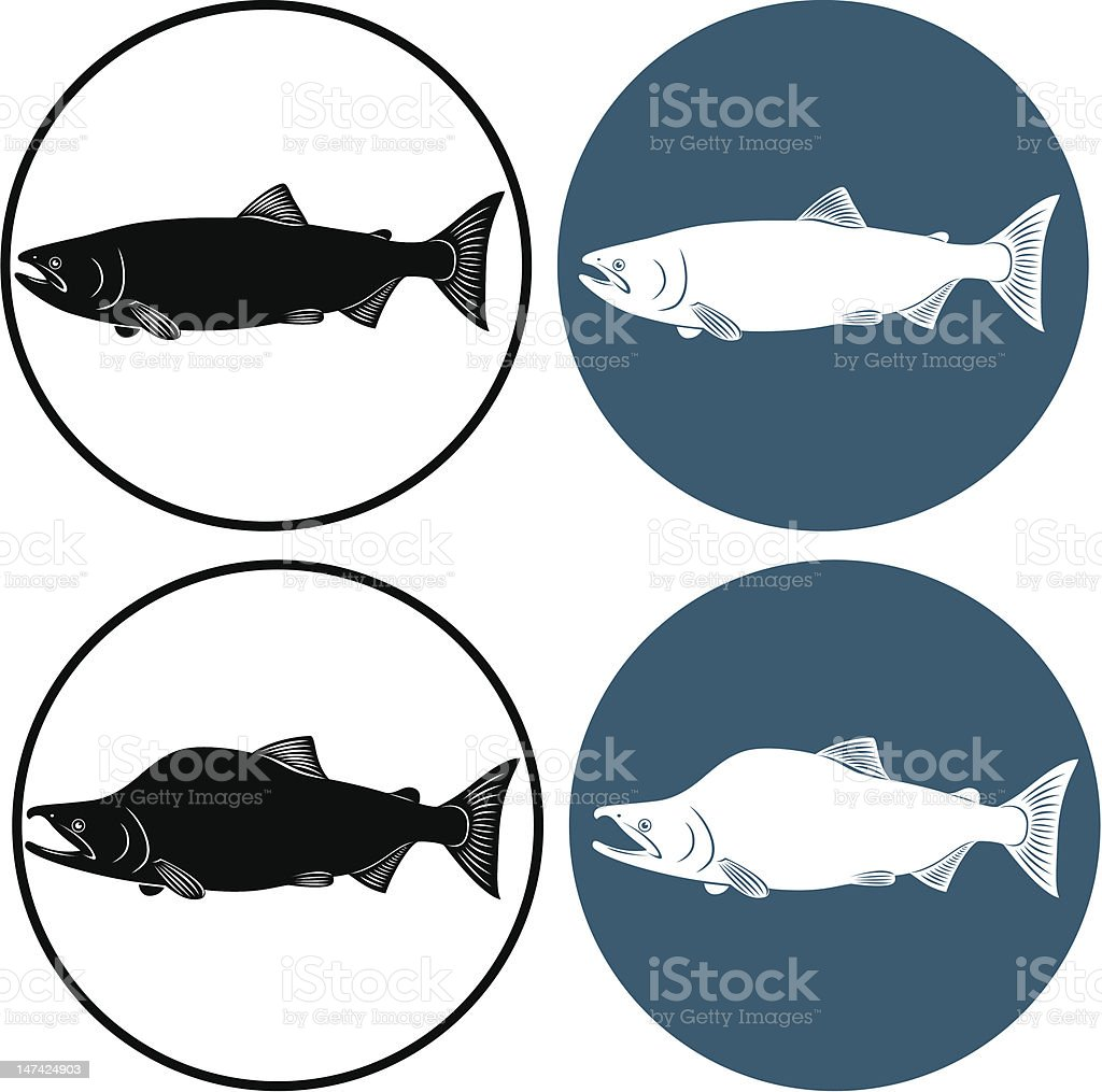 red fish royalty-free stock vector art