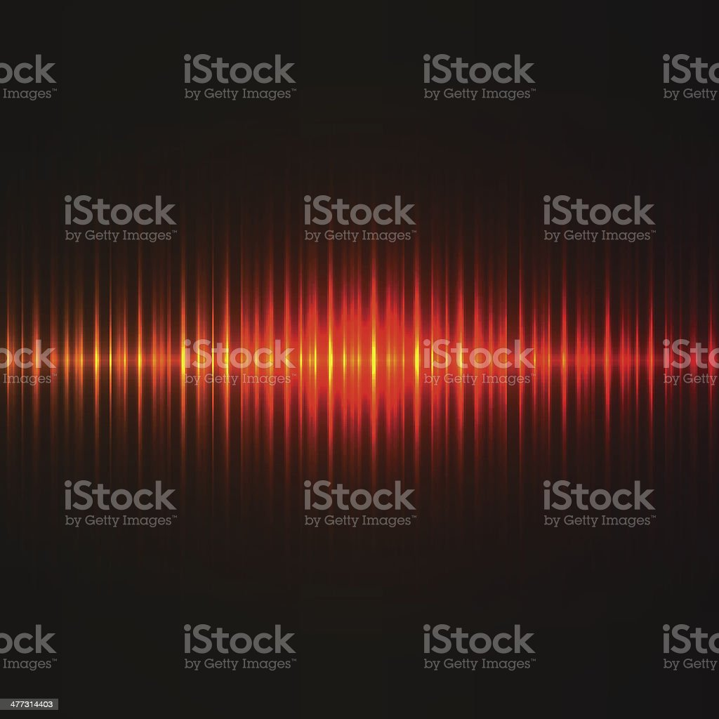 Red lights background. royalty-free stock vector art