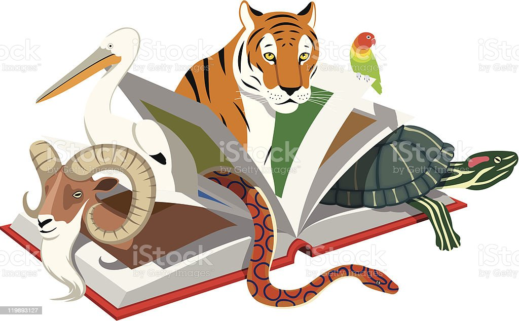 Red List of Threatened Species royalty-free stock vector art