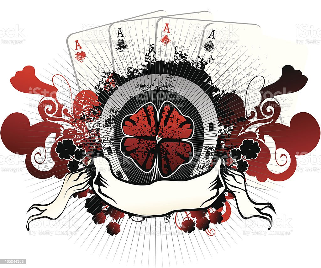 red luck royalty-free stock vector art
