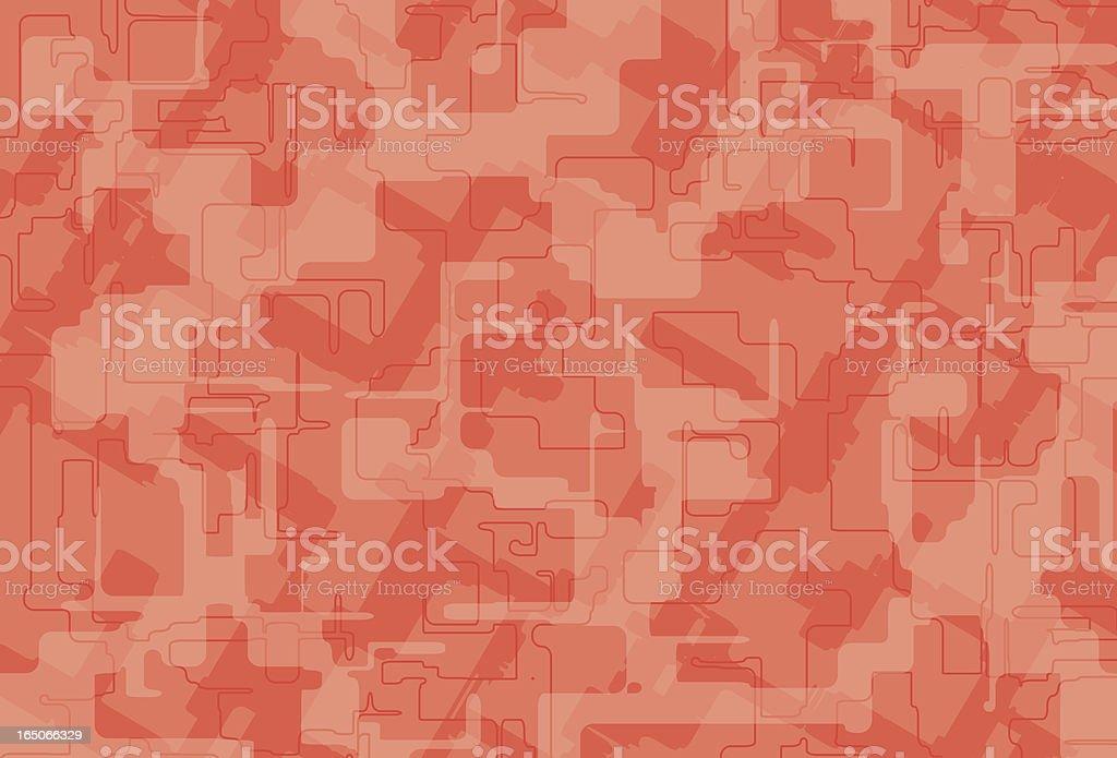 Red Matrix Vector Background royalty-free stock vector art