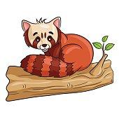 Red Panda Cartoon