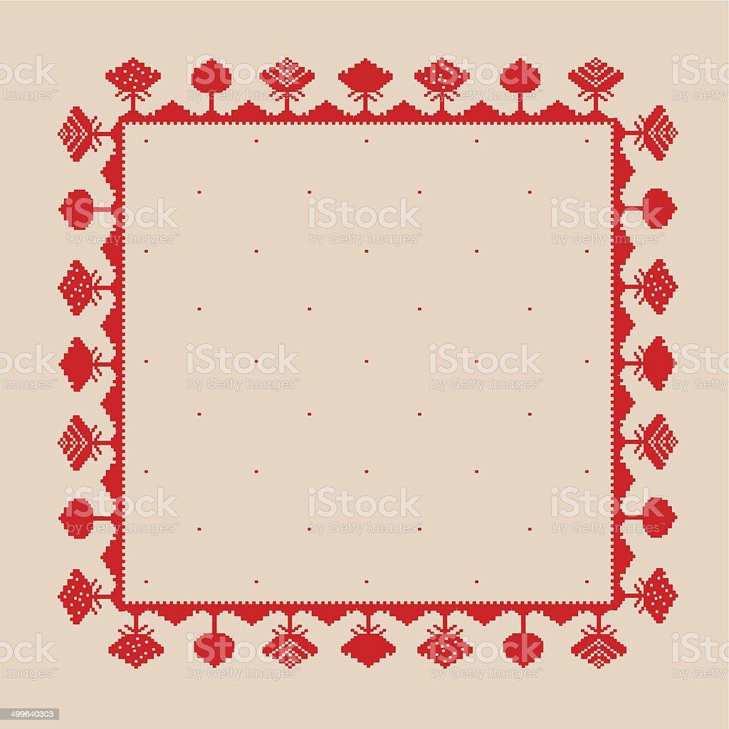Patrón De Rojo Illustracion Libre de Derechos 499640303 | iStock