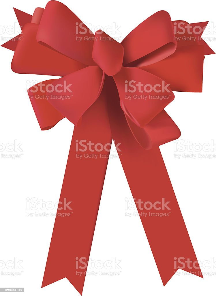 red ribbon royalty-free stock vector art