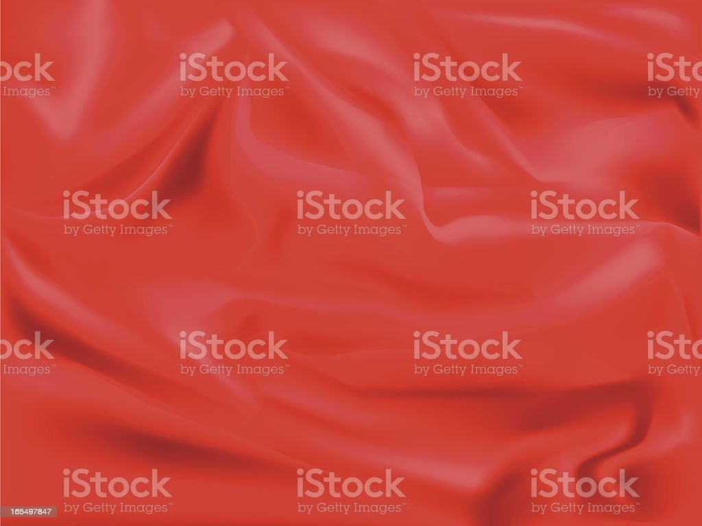 Red satin royalty-free stock vector art