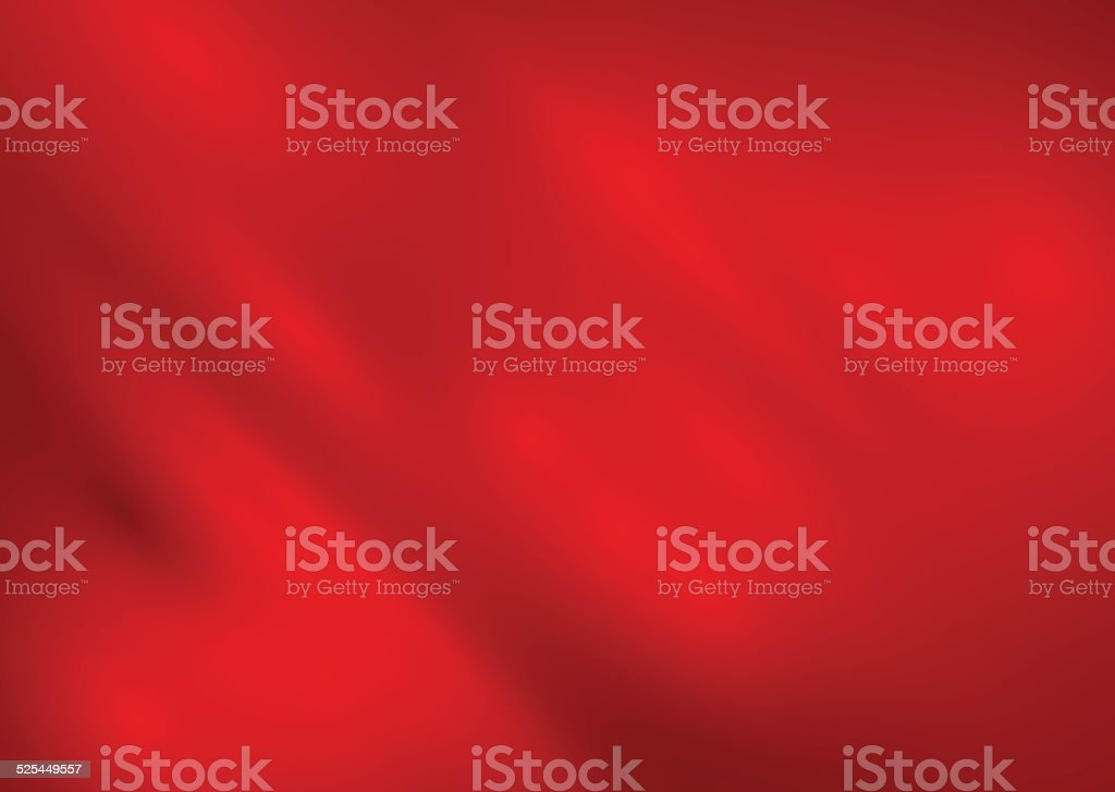 Red silk background vector vector art illustration