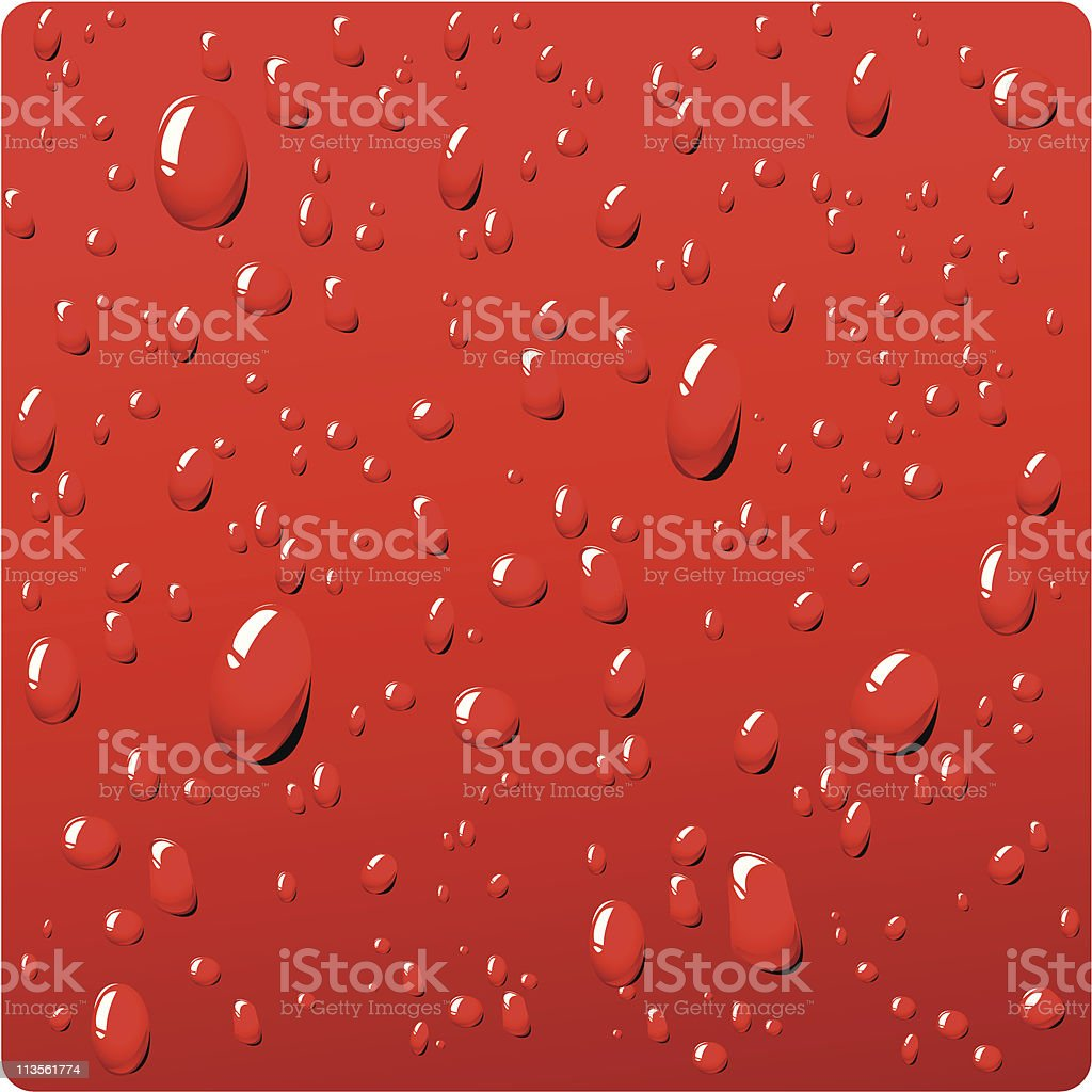 red sweat royalty-free stock vector art