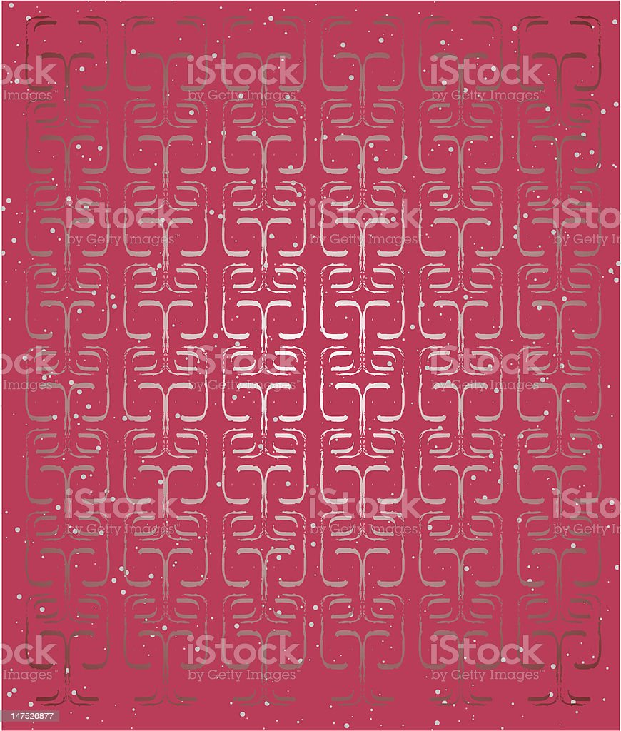 Red Thai Background royalty-free stock vector art