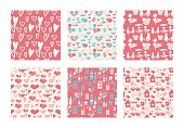 red valentine pattern
