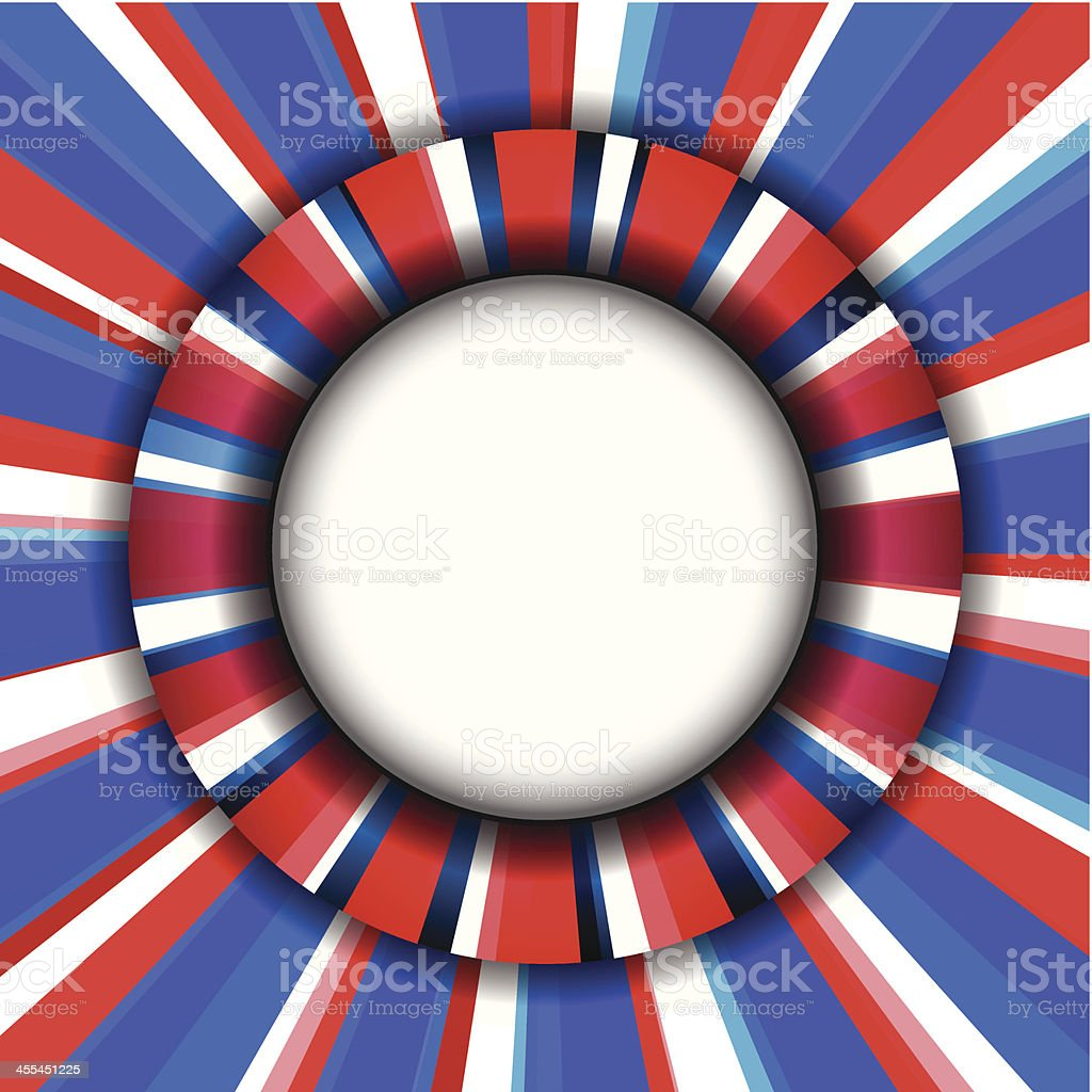 Red, White and Blue Background royalty-free stock vector art