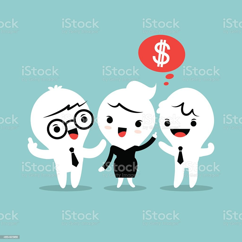 refer a friend referral concept illustration vector art illustration