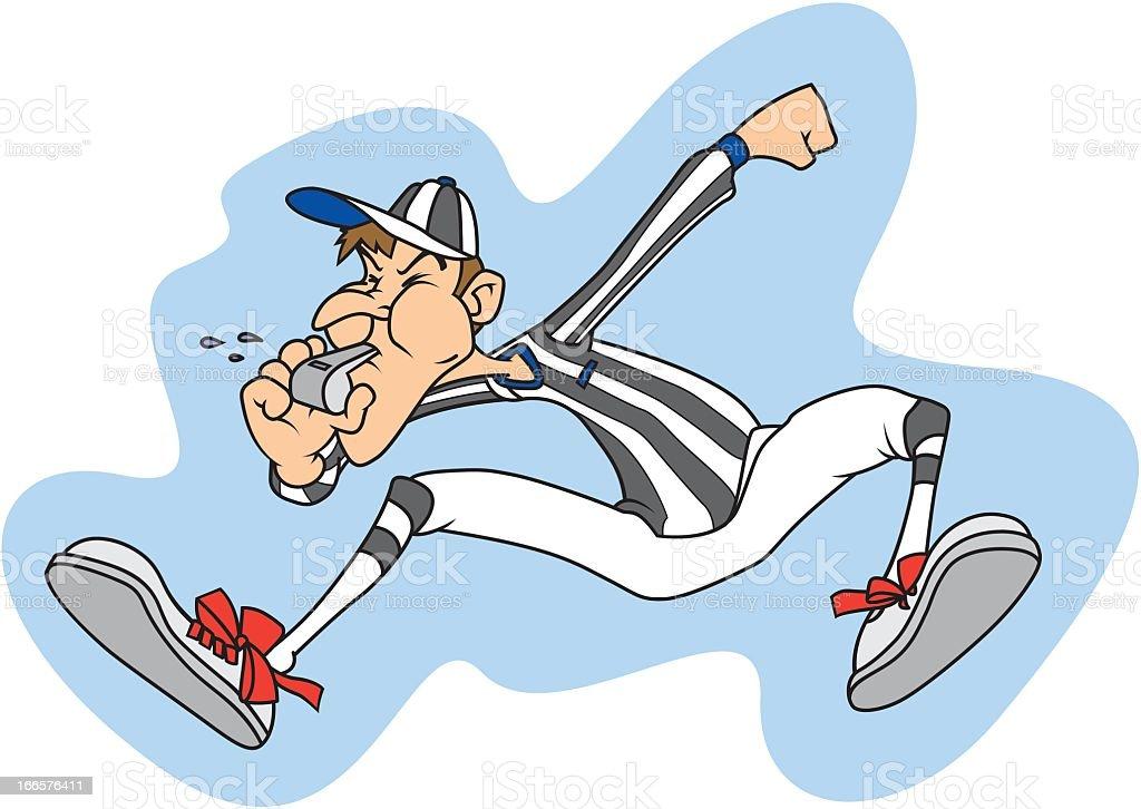 Referee royalty-free stock vector art