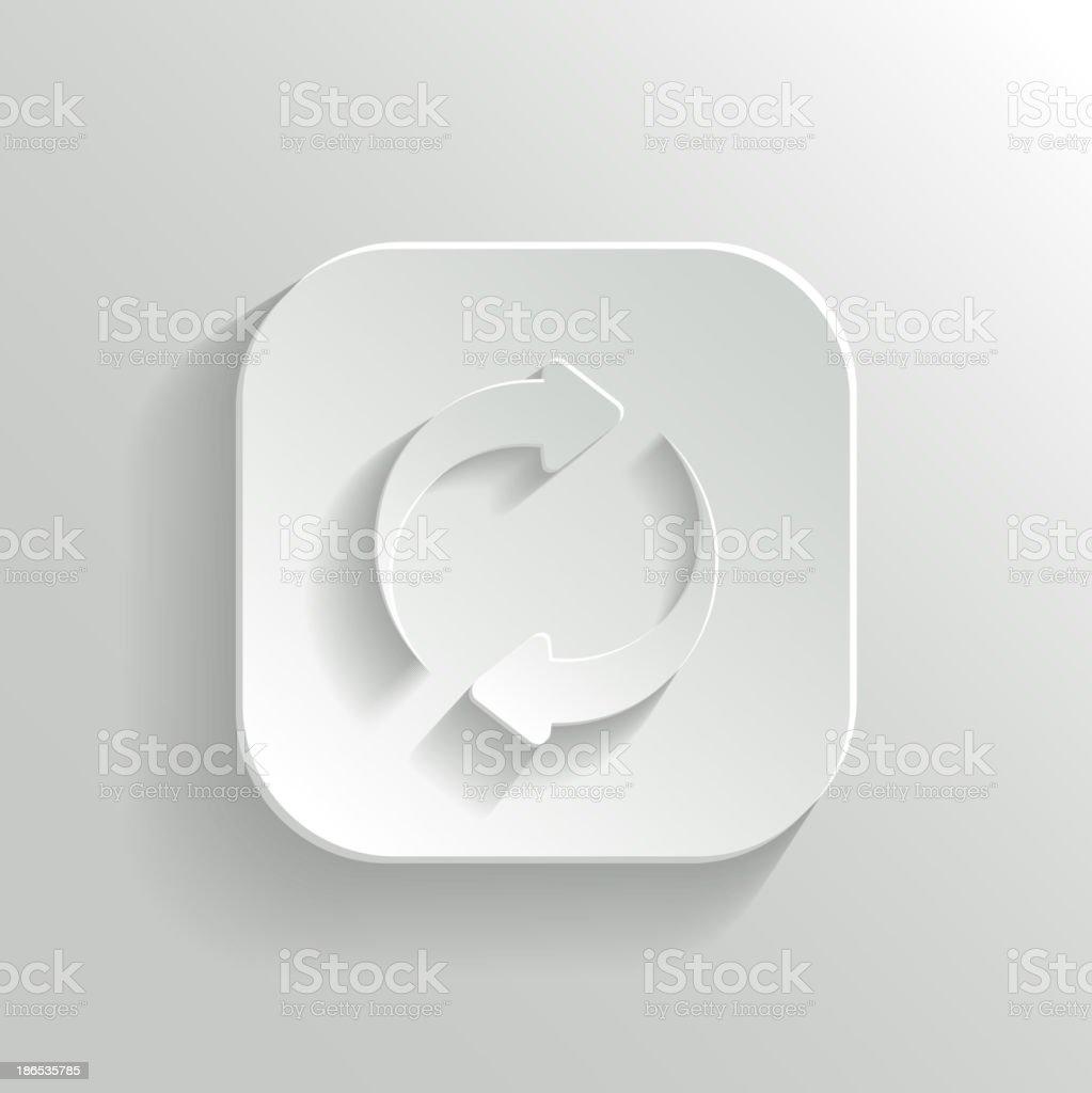 Refresh icon royalty-free stock vector art