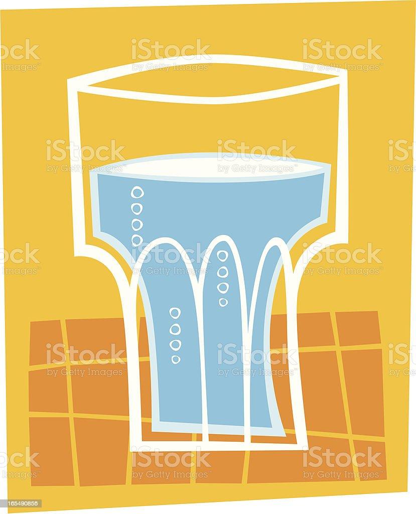 Refreshing drink royalty-free stock vector art
