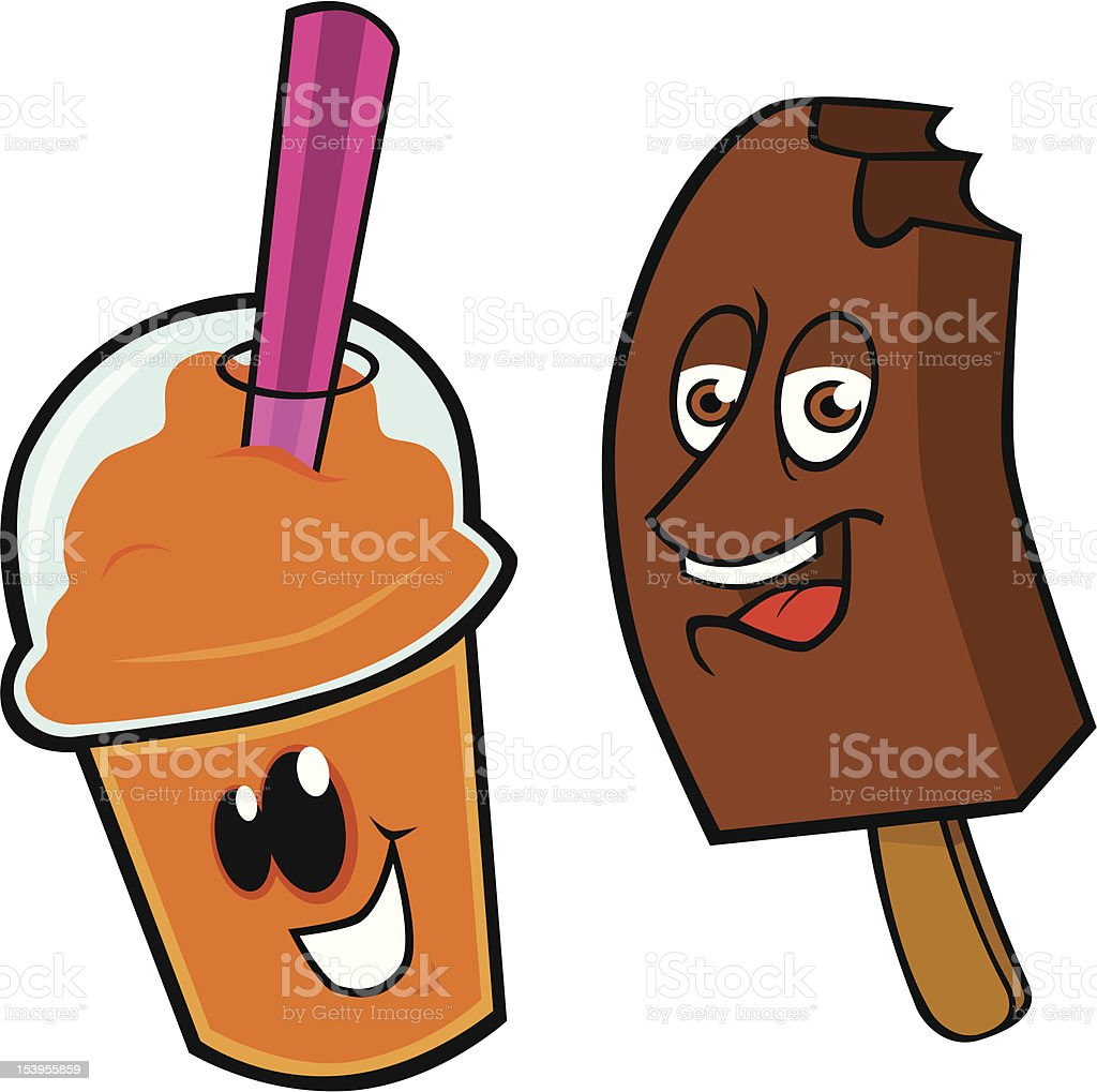 Refreshments1 vector art illustration