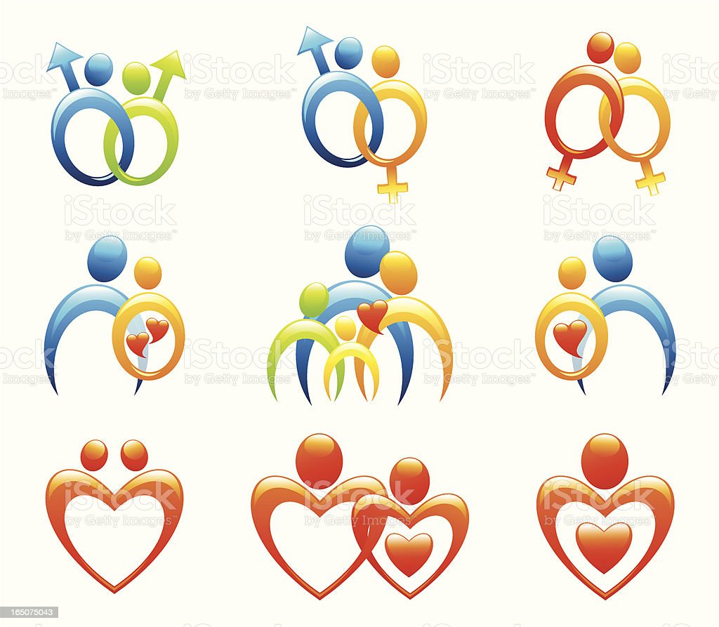 relationships royalty-free stock vector art