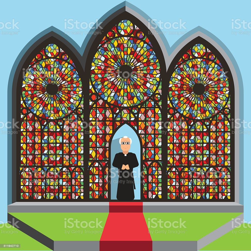 Religion vector art illustration